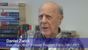 Daniel Zwick: The Community Action program and early activist neighborhood health reform